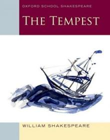 Oxford School Shakespeare: The Tempest 暴风雨,莎士比亚作品,英文原版