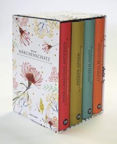 预订 Reclams Märchenschatz 童话故事,4卷套,德文原版
