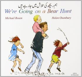 预订 We're Going on a Bear Hunt 我们要去猎熊,英语乌尔都语版