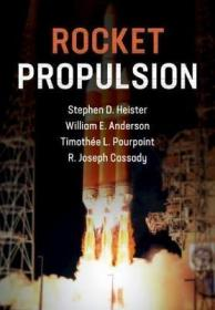 Rocket Propulsion 火箭推进,英文原版