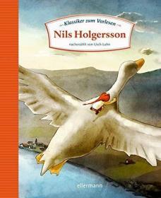 预订 Nils Holgersson 尼尔斯骑鹅旅行记,塞尔玛·拉格洛夫作品,德文原版