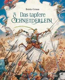 预订 Das tapfere Schneiderlein 勇敢的裁缝,彩色插图版,德文原版