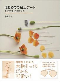预订 はじめての粘土アート 半日でできる可怜な草花,日文原版