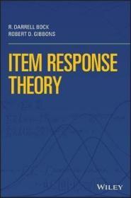 预订 Item Response Theory 项目反应理论,英文原版