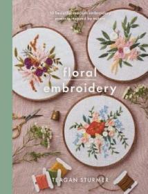 预订 Floral Embroidery 花朵刺绣,英文原版