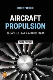 预订 Aircraft Propulsion : Cleaner, Leaner, and Greener 飞行器推进,第3版,英文原版