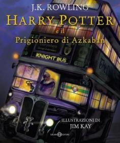 预订 Harry Potter e il Prigioniero di Azkaban - Ed. Illustrata Brossura 哈利波特与阿兹卡班的囚徒,插图版,意大利语原版