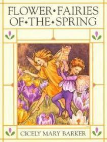 预订 Flower Fairies of the Spring 花仙子系列之春季,英国插画师、西塞莉·玛丽·巴克作品,英文原版