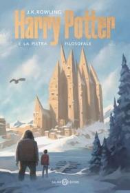 预订 Harry Potter e la Pietra Filosofale 哈利波特与魔法石,J·K·罗琳作品,意大利语原版