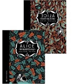 预订 Alice im Wunderland & Alice hinter den Spiegeln 爱丽丝漫游仙境&爱丽丝镜中奇遇记,插图版,德文原版