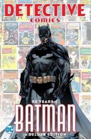 Detective Comics: 80 Years of Batman Deluxe Edition 蝙蝠侠80周年豪华版,英文原版