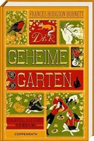 预订 Der geheime Garten 秘密花园,插图版,弗朗西丝•霍奇森•伯内特作品,德文原版