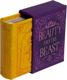 预订 Disney Beauty and the Beast迪士尼袖珍书系列:美女与野兽,英文原版