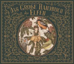 预订 Das große Handbuch der Elfen 小精灵,彩色插图版,德文原版