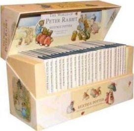 预订 The World of Peter Rabbit - The Complete Collection of Original Tales 1-23 彼得兔故事合集,英文原版