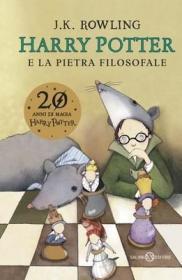 预订 Harry Potter e la Pietra Filosofale 哈利波特与魔法石,意大利语原版