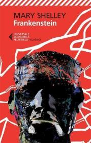 预订 Frankenstein科学怪人/弗兰肯斯坦,玛丽·雪莱作品,意大利语原版