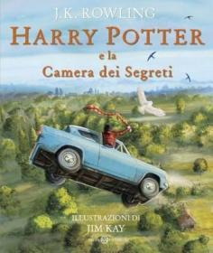 预订 Harry Potter e la Camera dei segreti - Ed. Illustrata Brossura 哈利波特与密室,插图版,意大利语原版