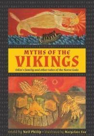 预订 Myths of the Vikings 维京神话,英文原版