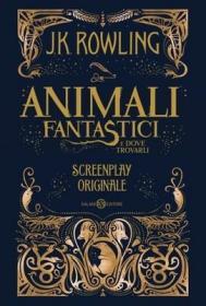 预订 Animali Fantastici e dove trovarli - Screenpaly originale 神奇的动物在哪里,意大利语原版
