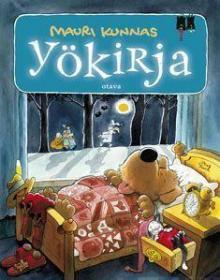 预订 Yökirja,毛里·库纳斯作品,芬兰语原版
