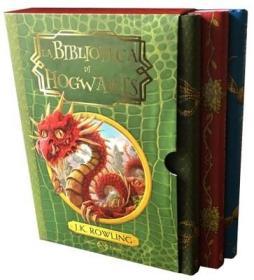 预订 La Biblioteca di Hogwarts (cofanetto) 霍格沃茨图书馆,3卷套,意大利语原版