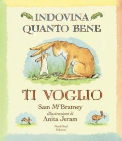 预订 Indovina quanto bene ti voglio 猜猜我有多爱你,意大利语原版
