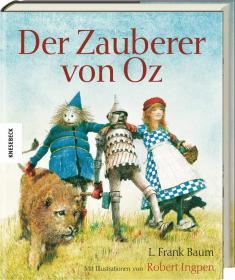 预订 Der Zauberer von Oz 绿野仙踪,彩色插图版,莱曼·弗兰克·鲍姆作品,德文原版