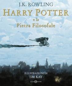 预订 Harry Potter e la Pietra filosofale - Ed. Illustrata Brossura 哈利波特与魔法石,插图版,意大利语原版