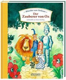 预订 Der Zauberer von Oz 绿野仙踪,彩色插图版,德文原版