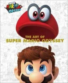 The Art of Super Mario Odyssey 超级马里奥,艺术设定集,英文原版