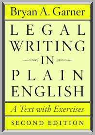 Legal Writing in Plain English, Second Edition: A Text with Exercises,法律英语通用写作,第2版,英文原版