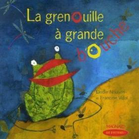 预订 La grenouille à grande bouche 大嘴青蛙,法文原版
