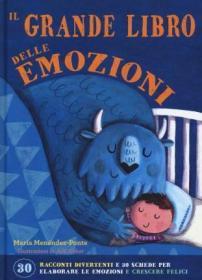 预订 Il grande libro delle emozioni 情感教育书,意大利语原版