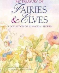 预订 My Treasury of Fairies and Elves 仙子童话故事书,英文原版