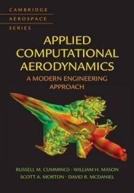 预订 Applied Computational Aerodynamics : A Modern Engineering Approach 应用计算空气动力学:现代工程学方法,英文原版