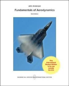 预订 Fundamentals of Aerodynamics空气动力学基础,第6版,英文原版