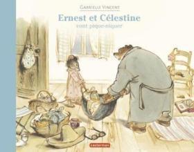 预订 Ernest et Celestine vont pique-niquer 艾特熊和赛娜鼠一起去野餐,比利时画家嘉贝丽·文生作品,法文原版