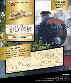 预订 Harry Potter: Hogwarts Express 哈利波特手工书系列:霍格沃茨专列,英文原版