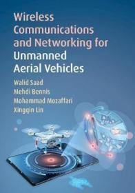 预订 Wireless Communications and Networking for Unmanned Aerial Vehicles 无人机的无线通信与网络,英文原版
