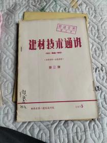 建材技术通讯【陶瓷