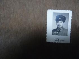 老照片    战士1970年元旦