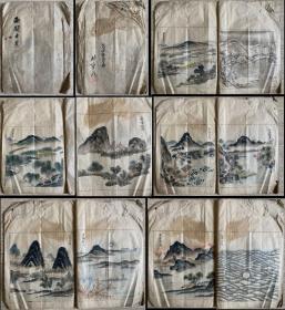 清-佚名《西湖十景图册》