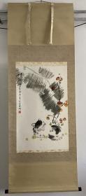 青州国画名家-丁学军《秋趣图》