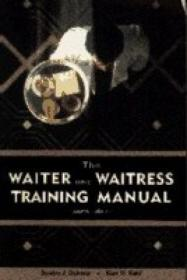 The Waiter And Waitress Training Manual (hospitality Travel & Tourism)