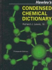 Dic Hawley's Condensed Chemical Dictionary