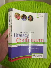 The Fountas & Pinnell Literacy Continuum, Expanded Edition: A Tool for Assessment, Planning, and Teaching, PreK-8 Expanded ed. Edition