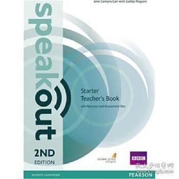预订Speakout Starter 2nd Edition Teacher's Guide with Resource & Assessment Disc Pack
