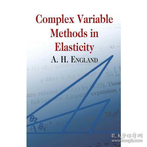 预售 英文预定 Complex Variable Methods in Elasticit