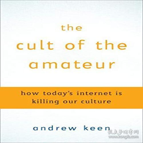 The Cult of the Amateur : How Blogs  Myspace  Youtube  and t 9780385520812